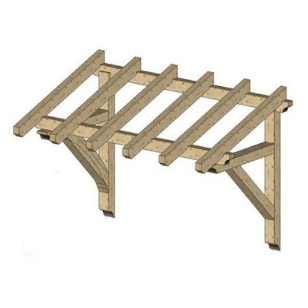 Как сделать деревянный навес над крыльцом своими руками фото 5