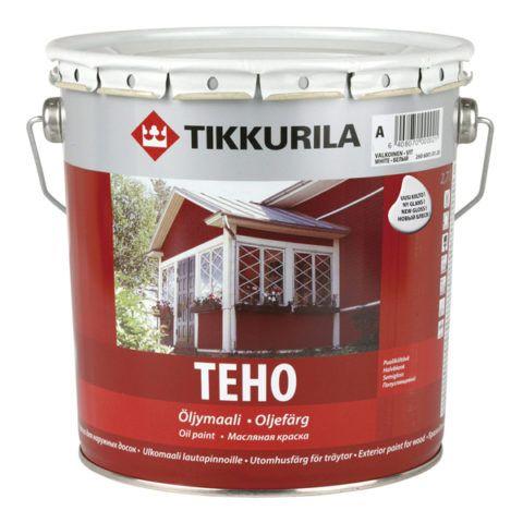 "На фото – качественная масляная краска от финского производителя ""Тиккурила"""