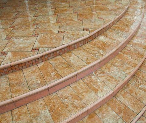 Плитка для облицовки ступеней крыльца из керамики