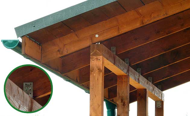 Крыльцо с навесом к деревянному дому своими руками