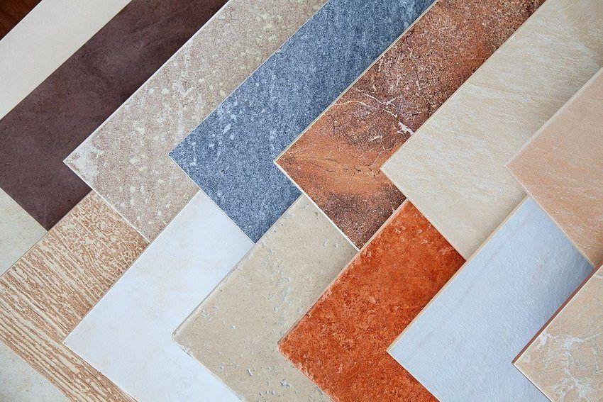 Плитка из керамогранита для крыльца может имитировать разные природные материалы