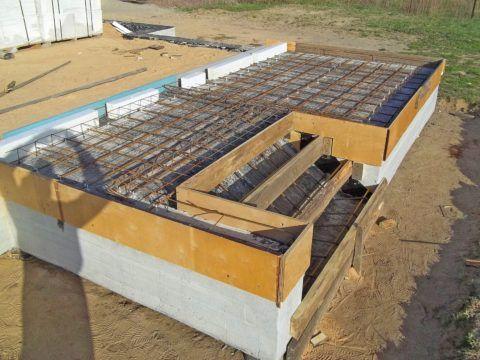 Армирование бетонного крыльца