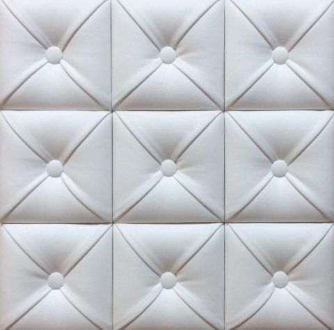 Декоративная панель из гипсобетона