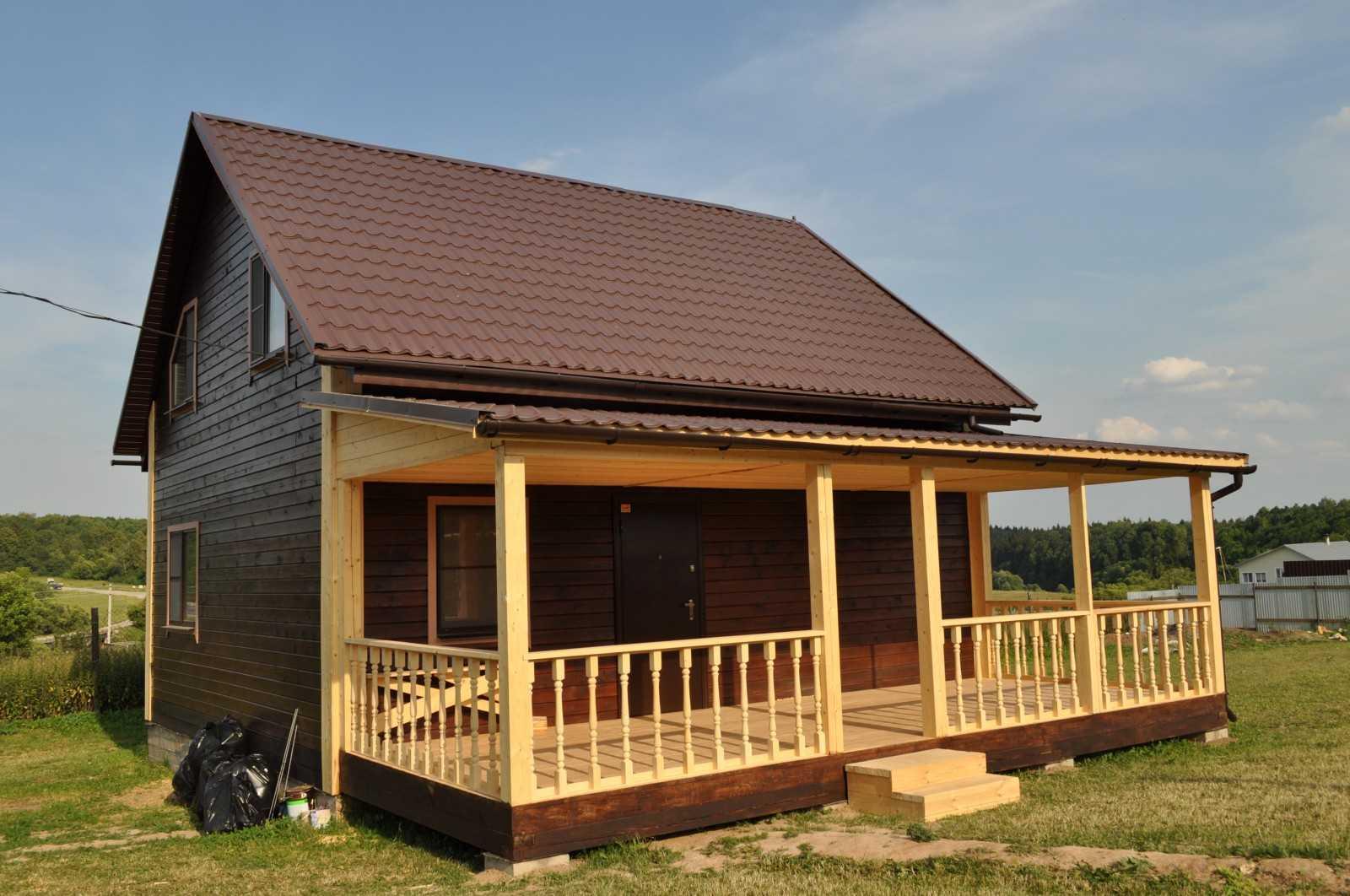 Веранды и крыльцо к деревянному дому своими руками 7