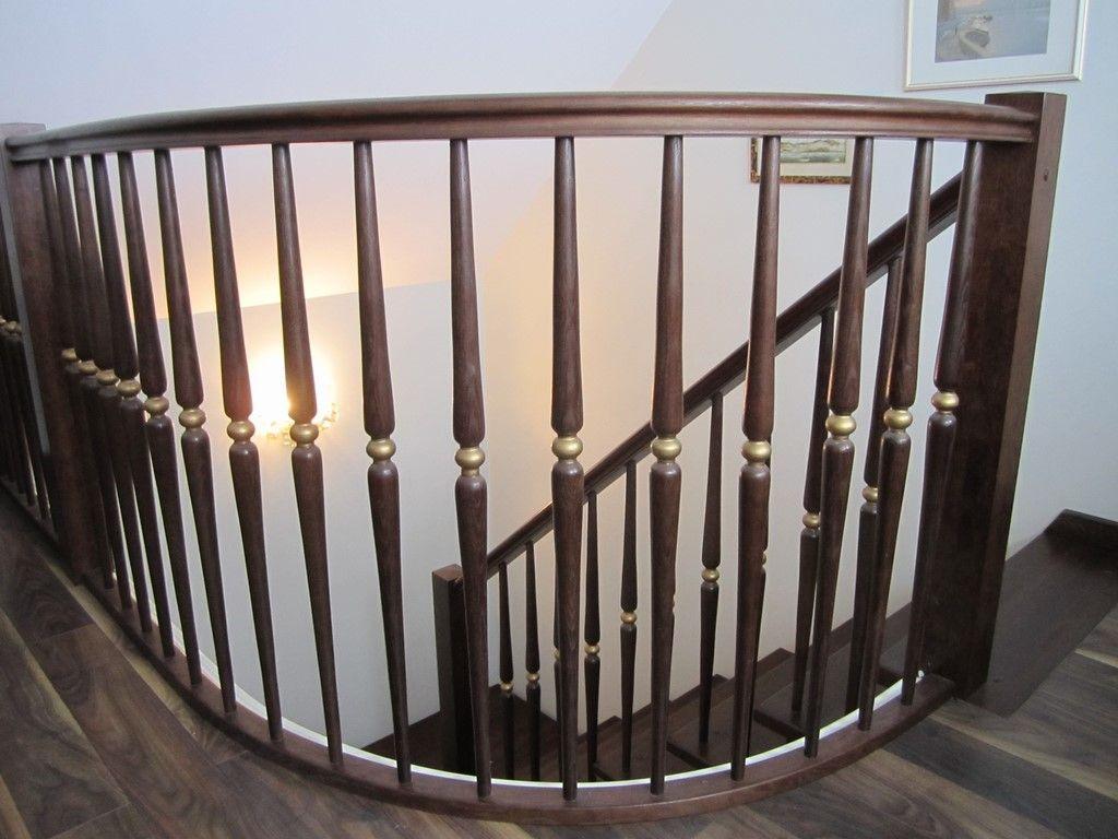 Ограждение лестниц на второй этаж своими руками