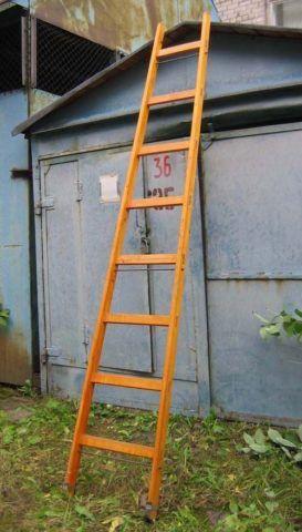Еще один пример безопасной лестницы