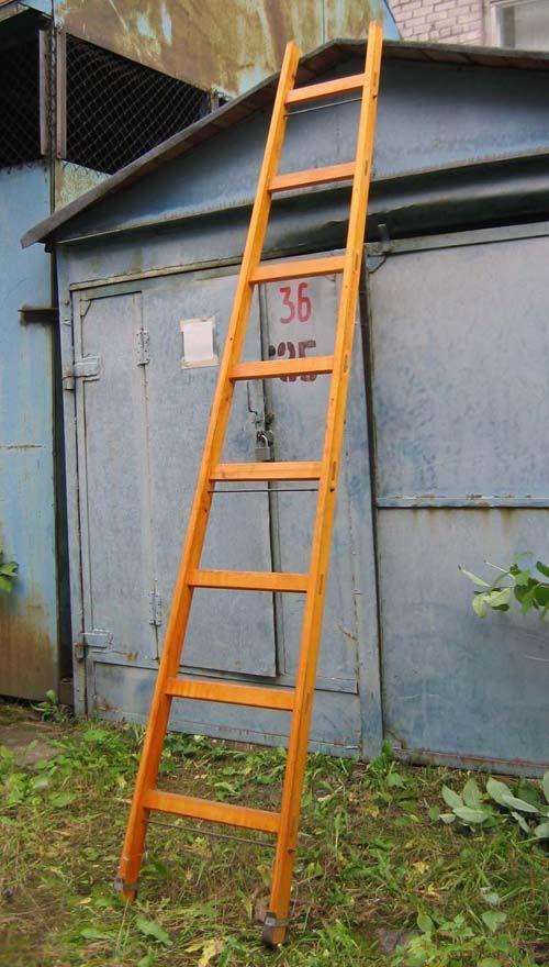 Деревянная лестница для дачи своими руками как сделать 84