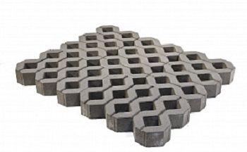 Газонная бетонная решетка Меба Braer, серый