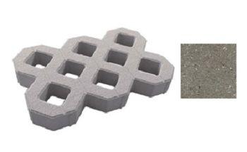 Газонная решетка Выбор, гладкий серый
