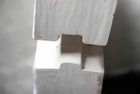 Гипсобетонные блоки для перегородок: крепление гребень-паз