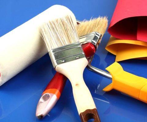 Инструменты для проведения покраски