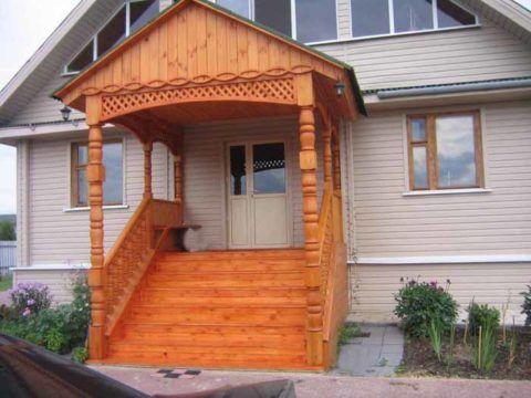 Конструкция из дерева для своего дома