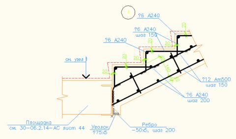 Крыльцо бетонное - как сделать: схема