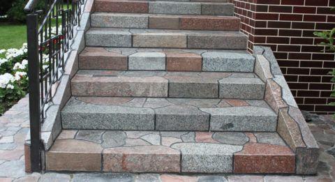 Крыльцо чем отделать: ступени из натурального камня