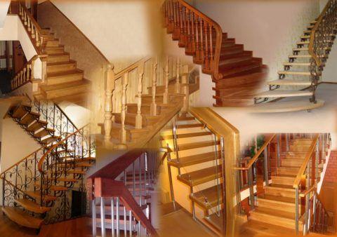 Лестницы деревянные и металлические – многообразие вариантов