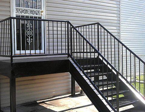 Металлическая конструкция лестницы