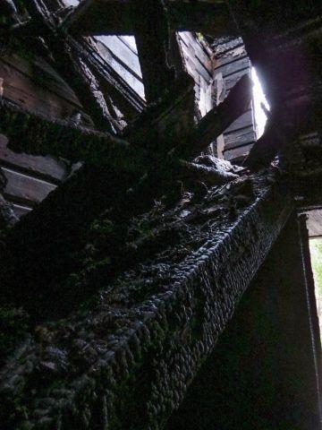 Огонь – самый большой враг деревянных конструкций