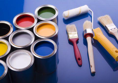 Окраска деревянной лестницы красками и эмалями