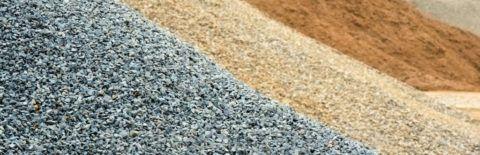 Песок и гравий