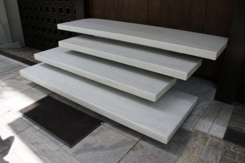 Полимерные ступени для крыльца