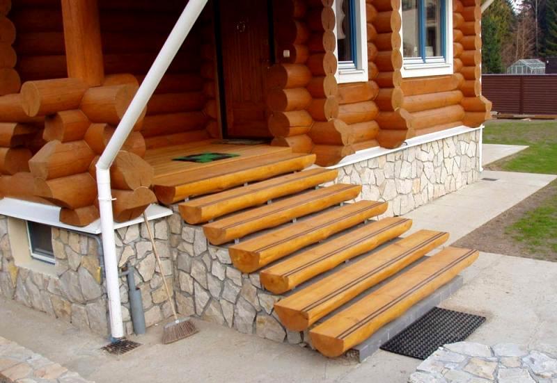 Крыльцо для деревянного дома: можно ли сделать своими руками Lestnici