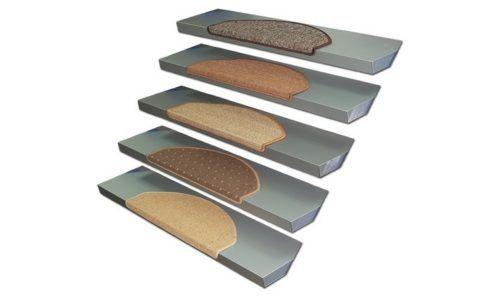 Противоскользящие коврики для стеклянных ступеней
