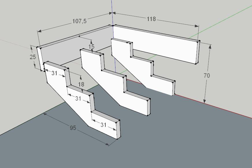 Как сделать лестницу на крыльцо из дерева своими руками 96