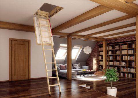 Самая удобная лестница – складная