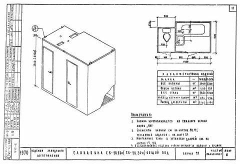 Санитарно-технические кабины