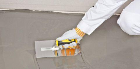 Шпатель для разглаживания бетонной смеси