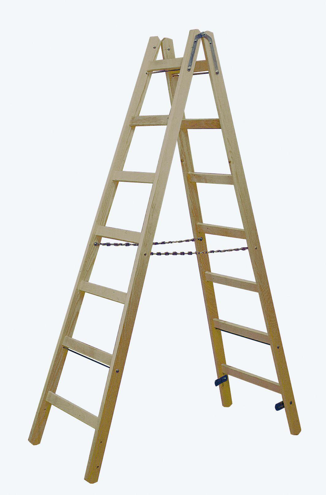 Лестница складная деревянная