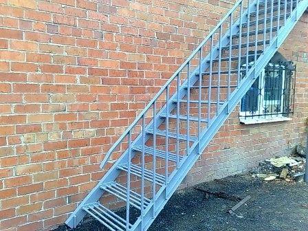 Лестницы для улицы своими руками