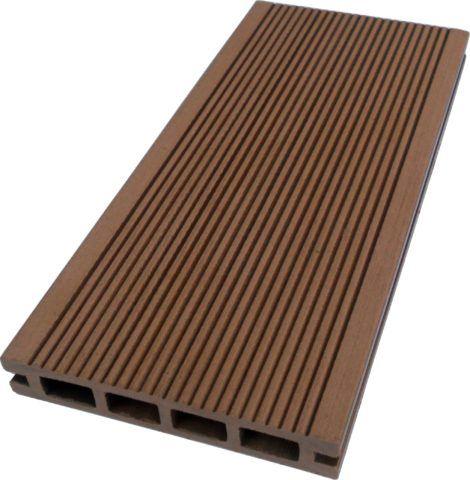 Террасная доска – один из видов изделий из ДПК