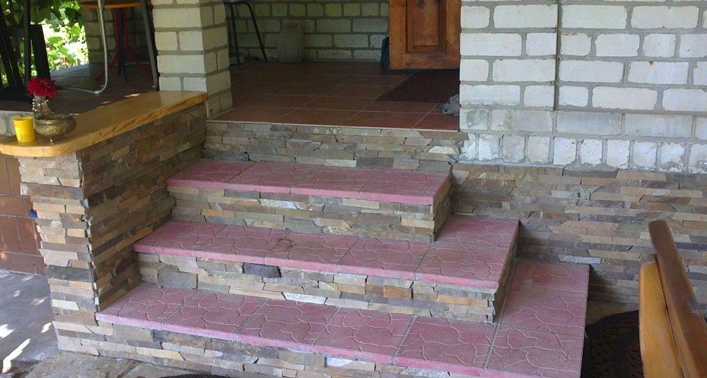 Плитка для лестницы своими руками 600