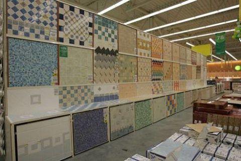 Высококачественную плитку и материалы для ее укладки, можно приобрести в «Леруа Мерлен»