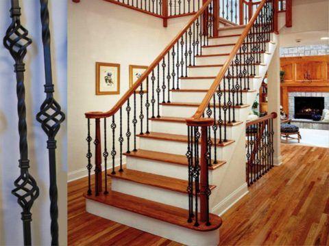 Закрытая конструкция лестницы