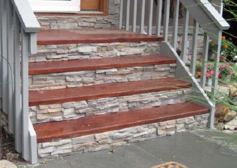Защита поверхности бетонного крыльца