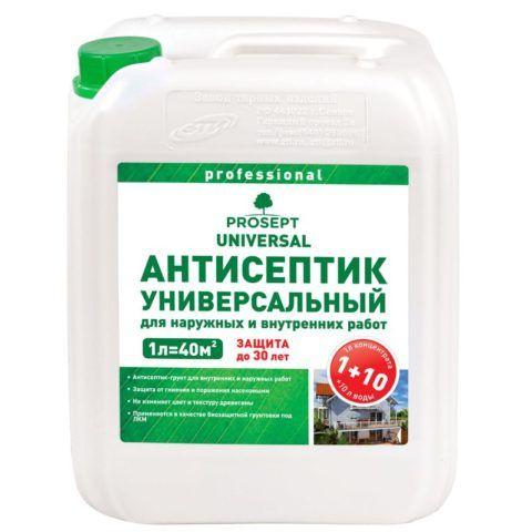 Антисептик-грунт
