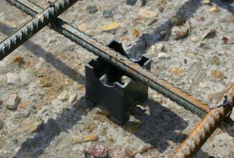 Армирование бетона крыльца