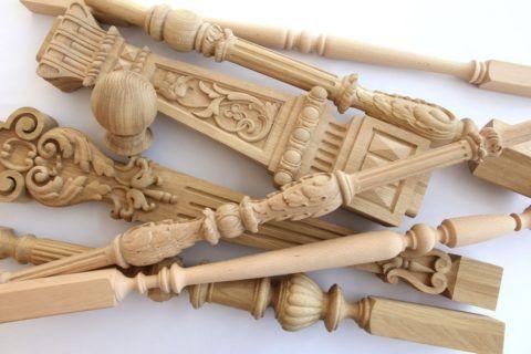Балясины для деревянной лестницы