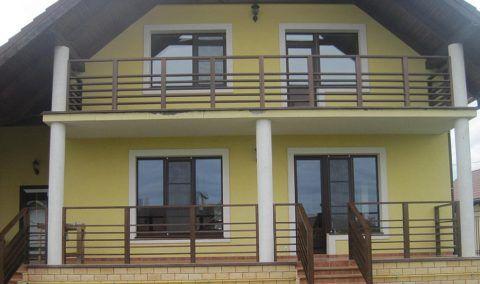 Бетонный балкон