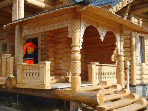 Деревянное зодчество сельского дома