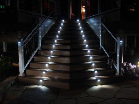 Дизайн ночной лестницы