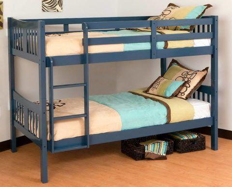 Двухъярусная кровать должна иметь бортик на втором ярусе