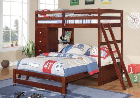 Фото лестницы двухъярусной кровати