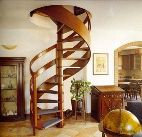 Изготовление лестниц для коттеджей: как самому сделать винтовую лестницу