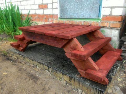 Как сделать деревянные ступени к крыльцу