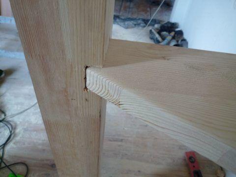 Как собирать деревянные лестницы: подгонка деталей