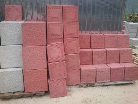 Какую положить плитку на крыльцо: плитка из бетона