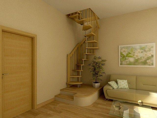 Винтовые лестницы на второй этаж своими руками